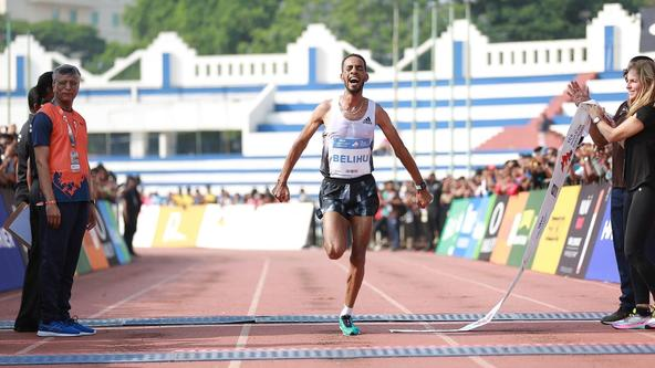 Ethiopia's Andamlak Belihu triumphs at the TCS World 10K Bengaluru 2019, Kenya's Agnes Tirop defends her women's title