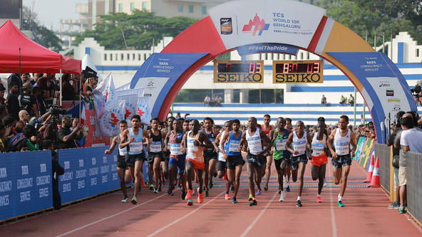 Registrations Open for World's Premier 10K run Tata Consultancy Services World 10K Bengaluru 2020